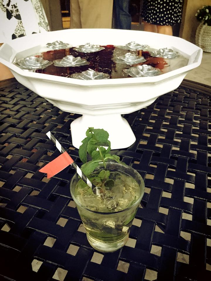 mint julep custom cocktail