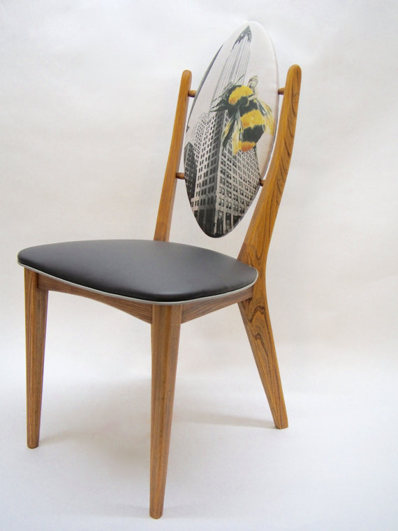 "Chaise médaillon ""King Bee"" - 380$"