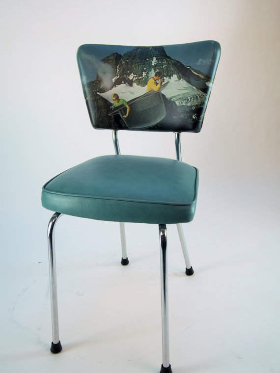 "Chaise de cuisine ""A Hat Travel"" - 320$"