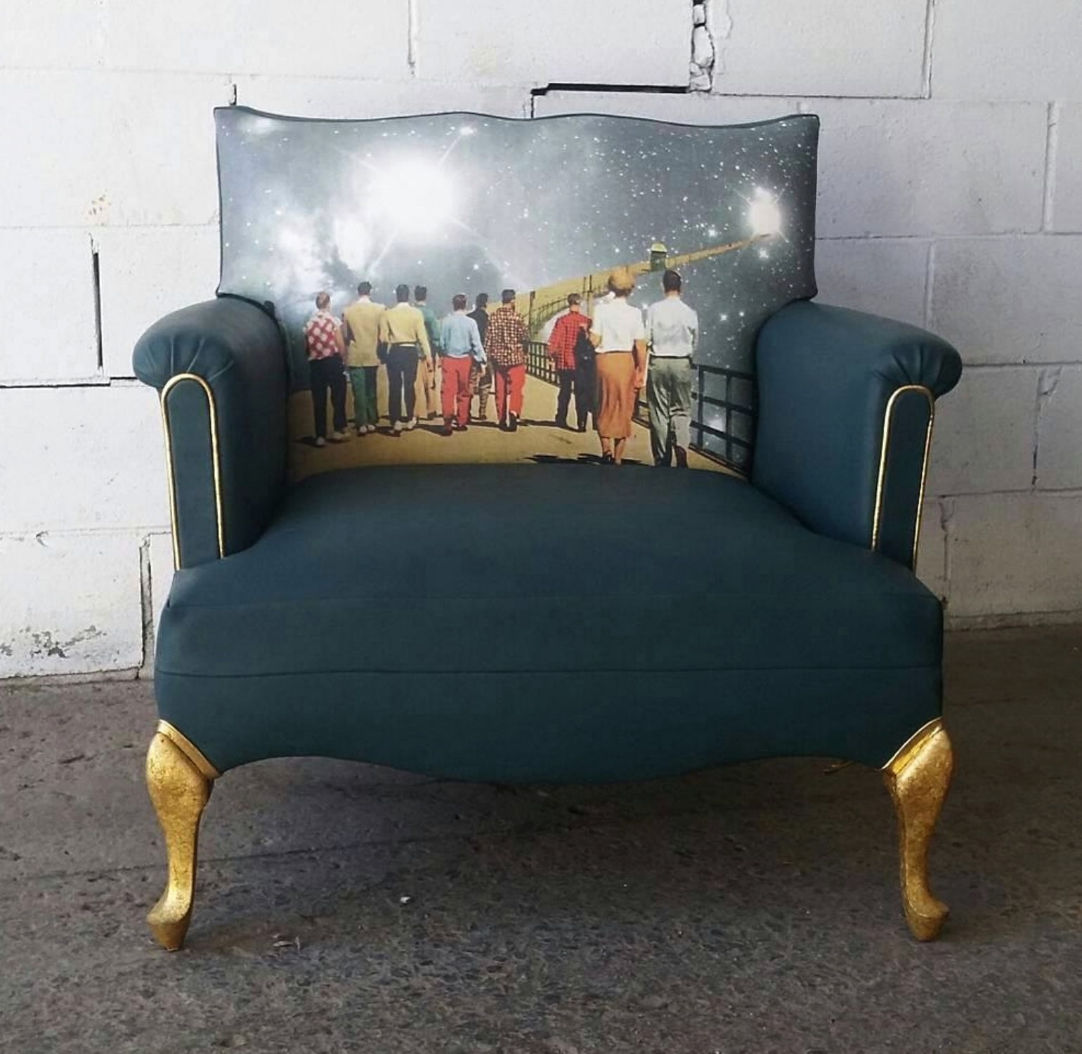 "Fauteuil ""The Last Walk"" - 850$"