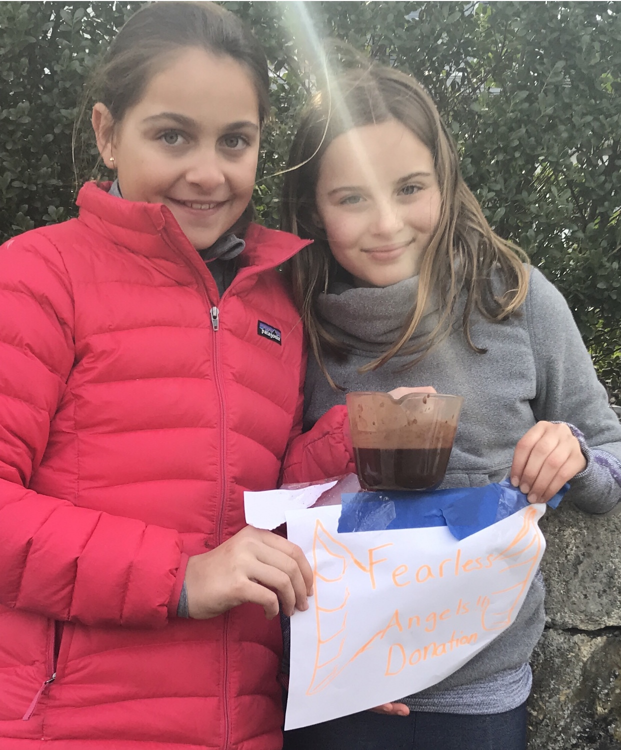 LULU PLOOG & ANSLEY BIEGER RAISE FUNDS FOR TFAP WITH COCOA STAND  APRIL 14TH, 2018    SEE ARTICLE