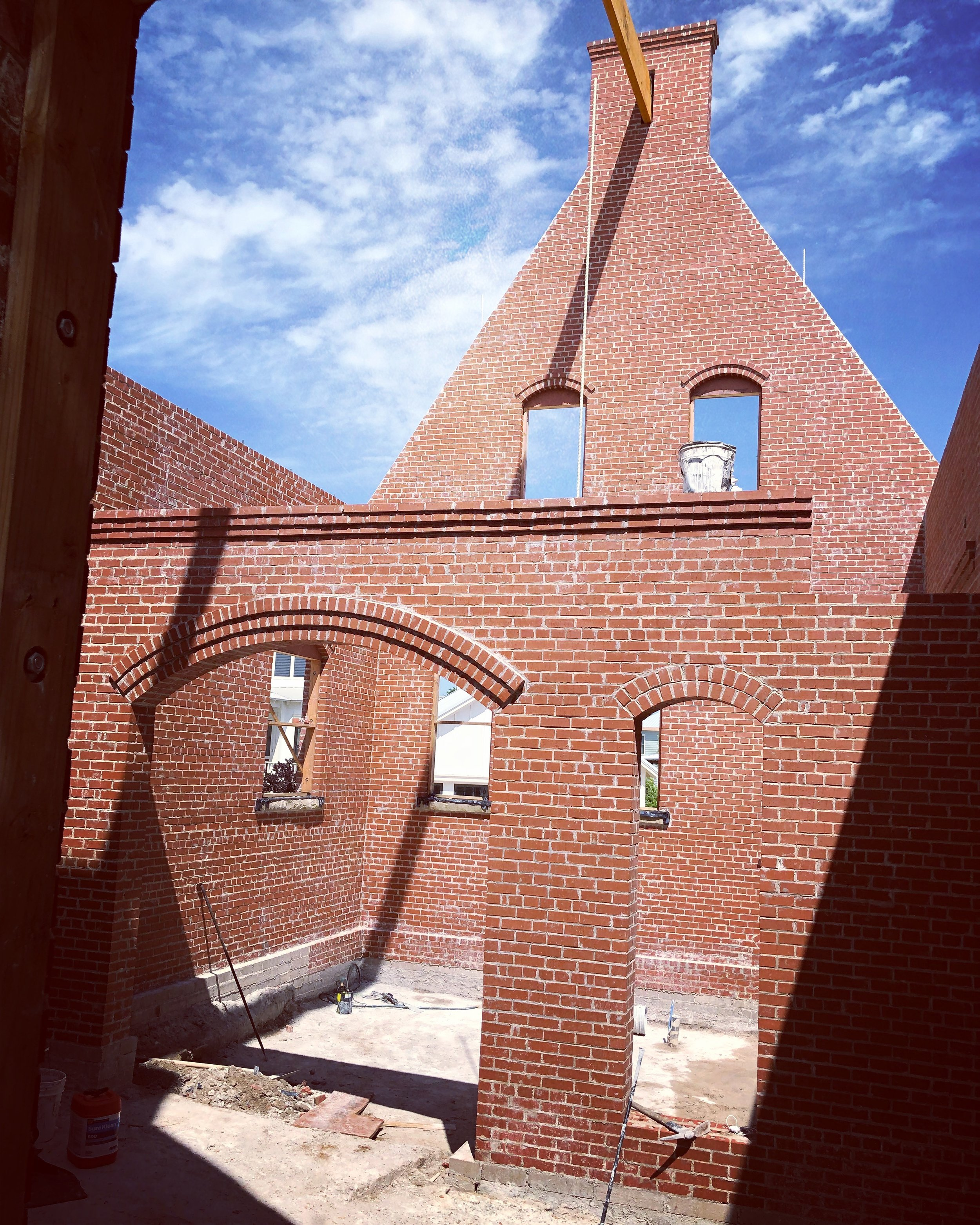Structural Brick Masonry Home - The Franklin - by Building Culture