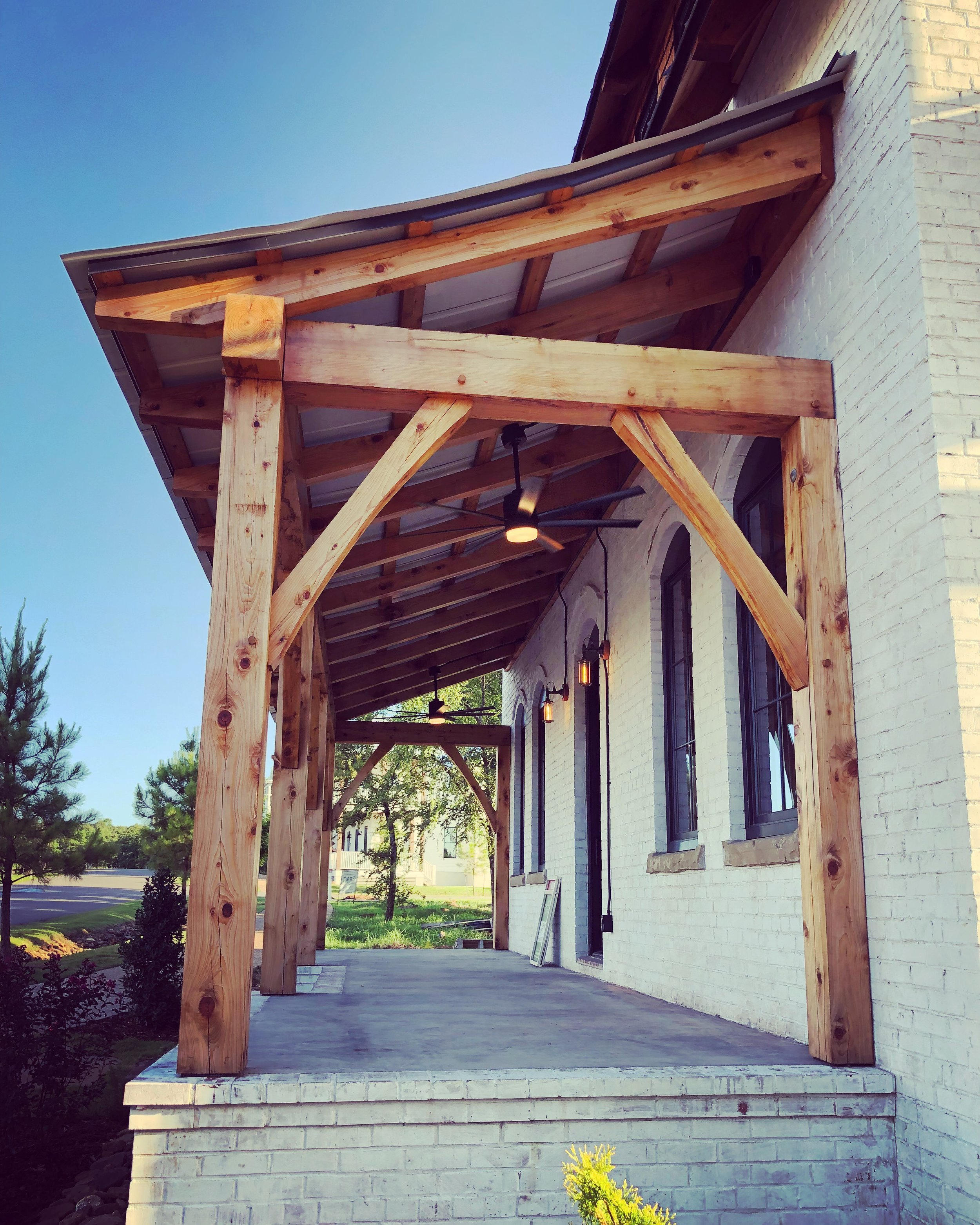 Timber Framed Porch