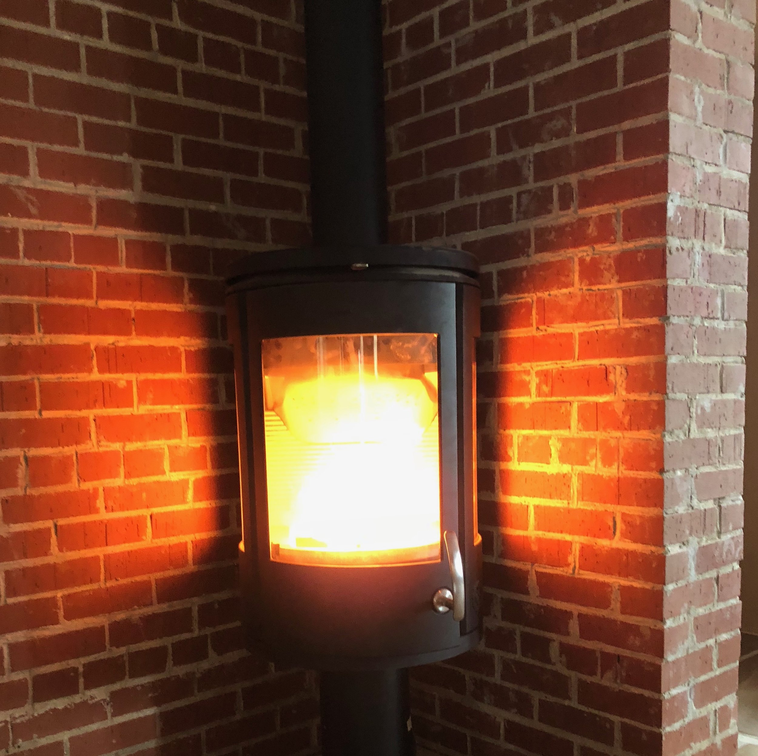 Morso wood burning stove