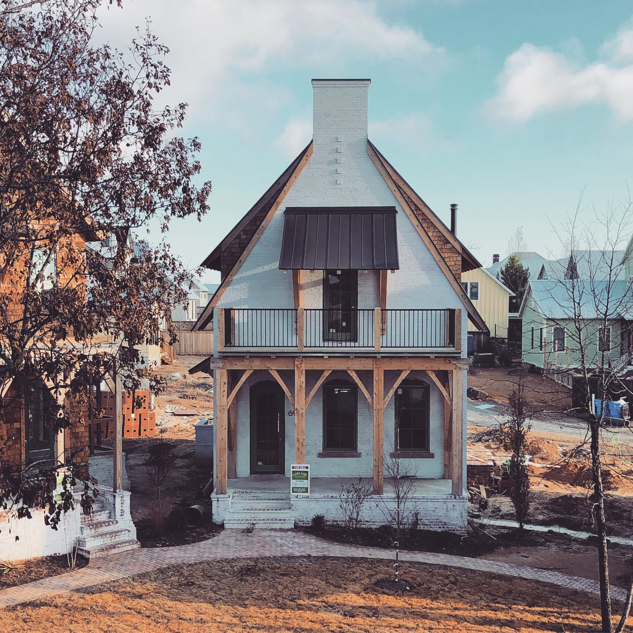 The Franklin - A Stuctural Brick Masonry Home in Carlton Landing OK - by Building Culture