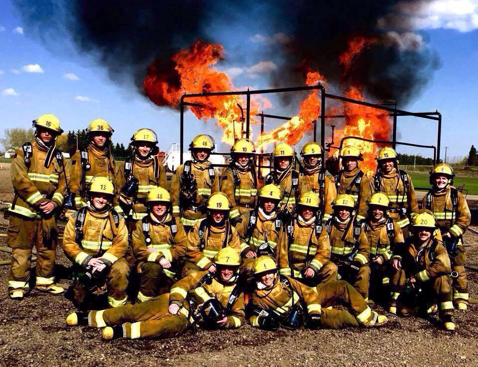 Alberta's Fire Training School was a rebranding project that I was a part of with Calder Bateman Communications.