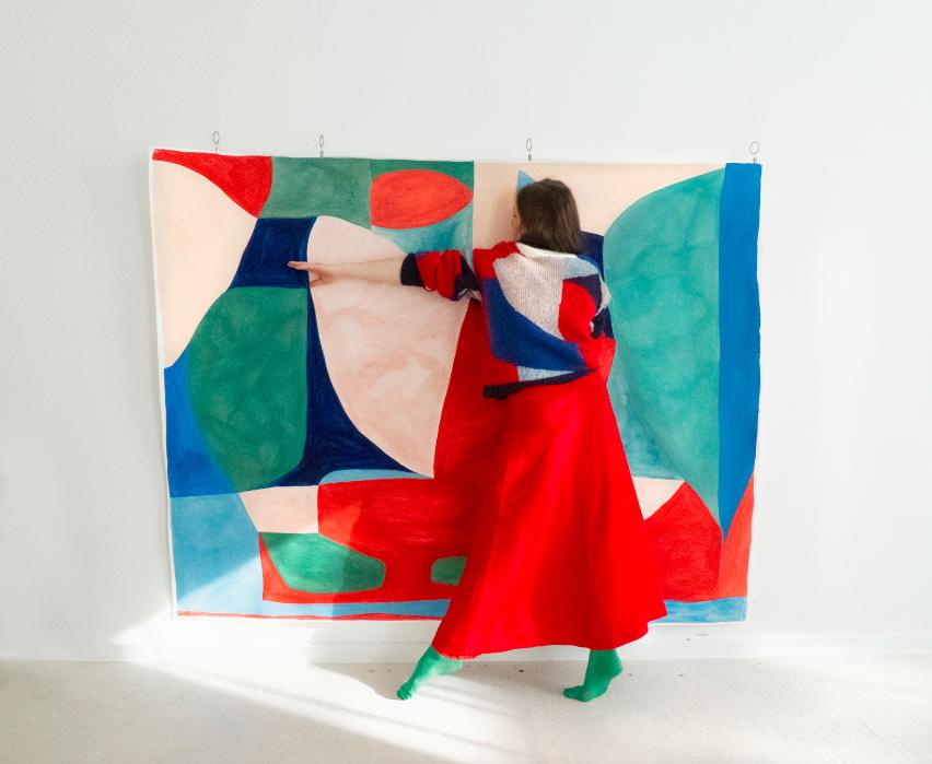 Caroline Denervaud Double V Gallery