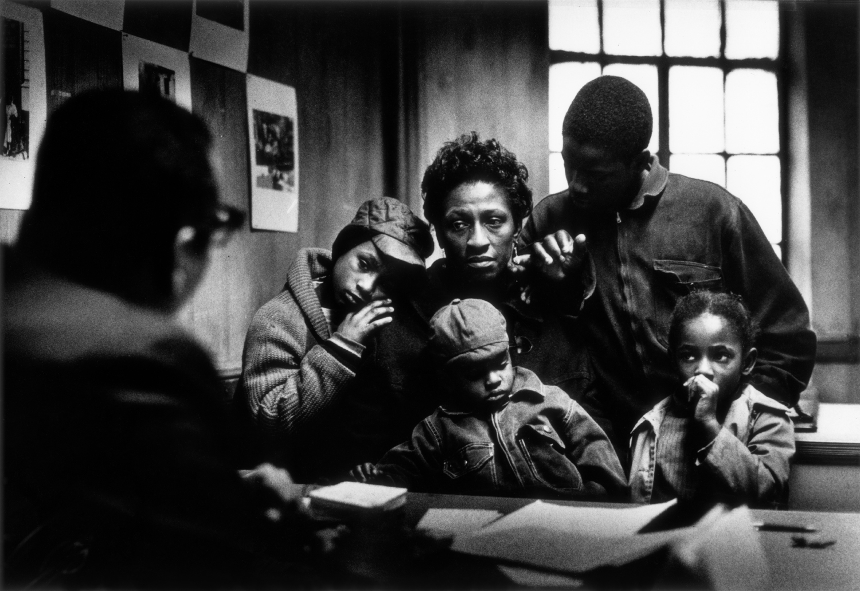 A Harlem Family, Gordon Parks, 1967. Courtesy of The Gordon Parks Foundation.