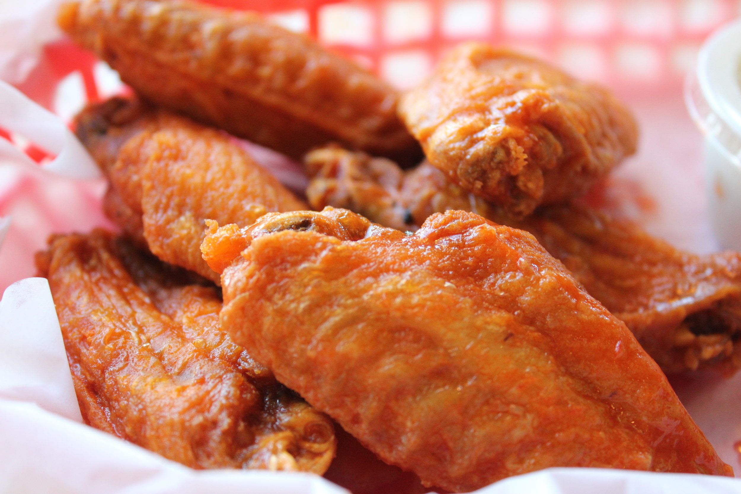 Named Best Wings in Charlotte