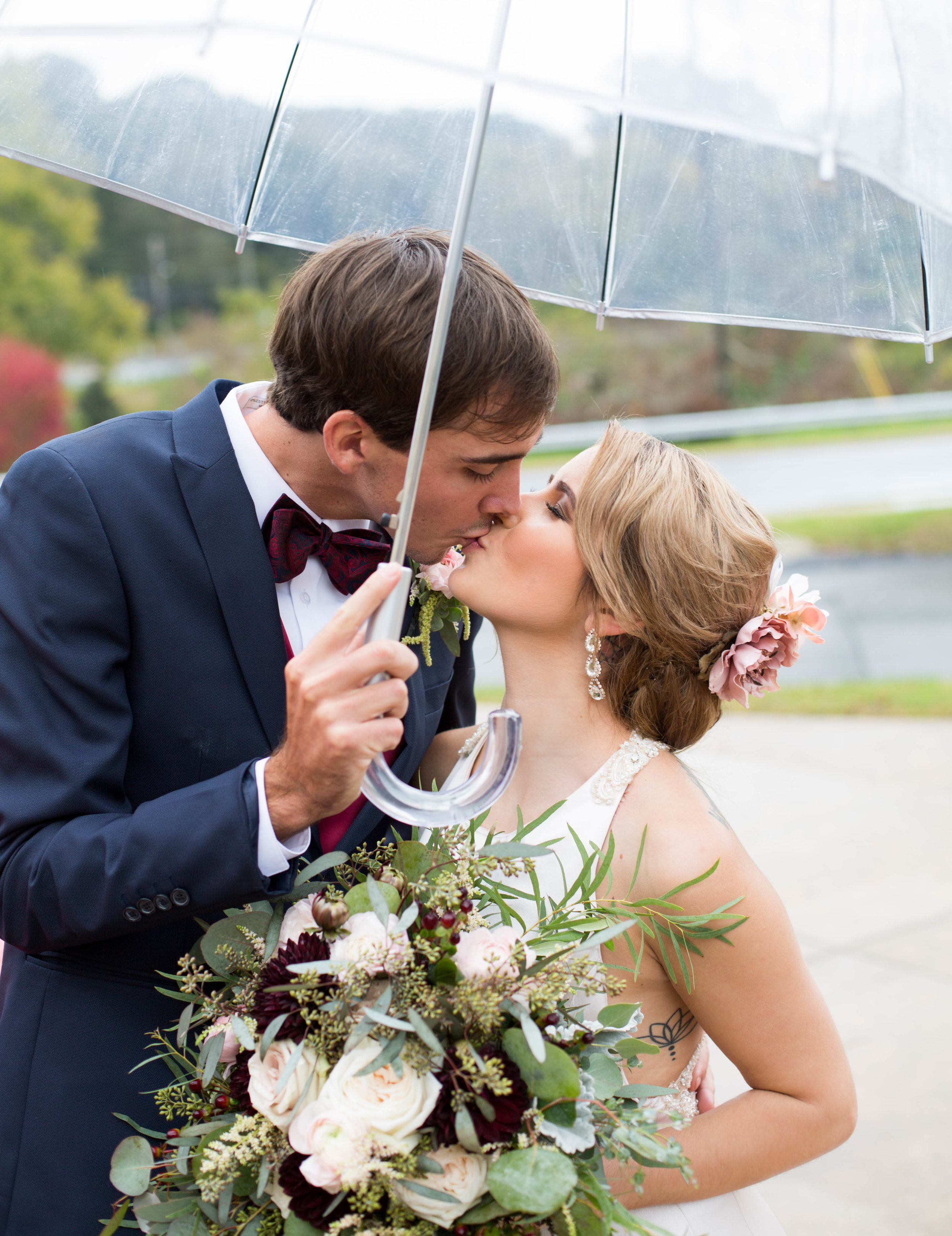 - These two make rainy days look good! We had such a great time capturing Tyler and Kassidi's wedding day. We wish you guys a lifetime of love and happiness!