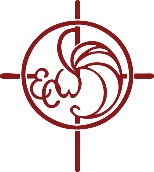 ECW Logo #8A19B - Red - PNG