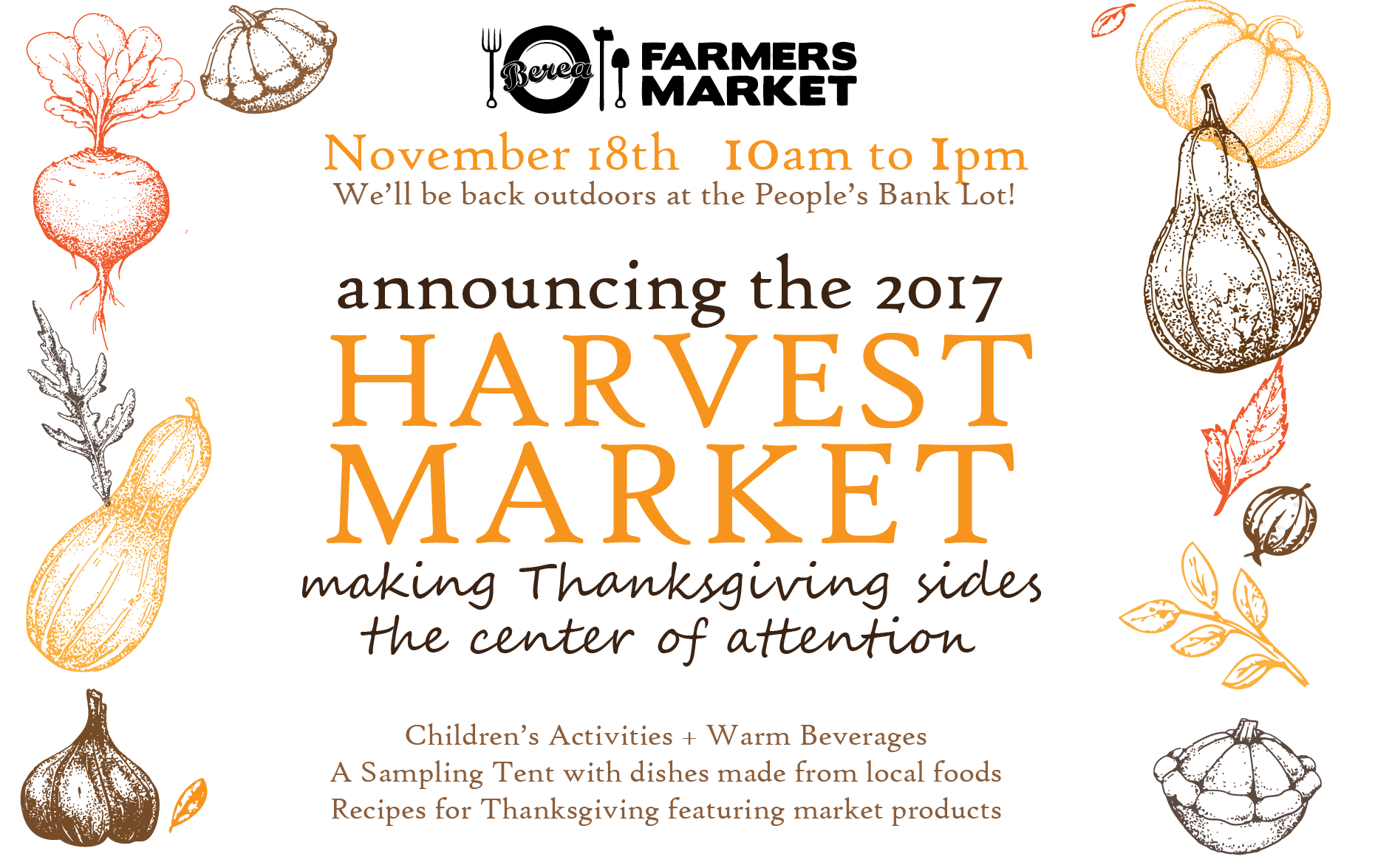 Harvest Market Nov. 18th 2017