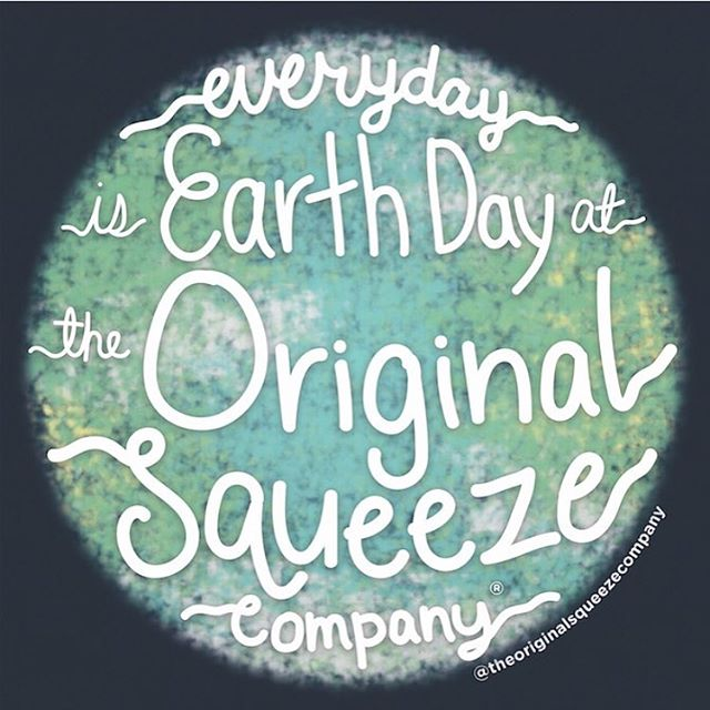 """It's Earth Day! 🌎 . . It also marks the 8 year anniversary of my light bulb moment when my 10 month old squeezed a disposable food pouch all over himself and the back seat of the car. Did you know you can't recycle those disposable pouches?! . 'Squeezing the goodness out of what we are given' is my company tagline/mantra. I wrote this tag line in 2009, 17 days after I was given the opportunity to endure a brain bleed, the gift of giving life to my firstborn and brain surgery. 10 months later, fully recovered, I stared back at this tag line in my journal the day I came up with the idea for The Original Squeeze. . Today, I lean on this mantra again as I share it has been a rough road to scale my small company in this ever changing retail world and sadly we will be going on 'hiatus' socially as we navigate the next chapter ahead of us. Are we closing our doors? I don't know. For a few years we have been looking for the right operational partner or company who believes in our products and mission. I have fallen in love with people and partnerships that I thought were """"the one"""" to help me with my mission and had my heart broken more than a dozen times. It's okay! If The Original Squeeze is suppose to continue on as a useful product and feeding tool, then the stars will align. If it's not, I am taking my mantra with me to the next chapter and will 'squeeze the goodness' out of that one as well. Life is so short and so unfair at times of hardship, but how we rise up makes all the difference. My goal is to continue to lean on gratitude, trust my journey and share my light. I am not just a mom who invented an original product. I am woman who loves life, believes there is more good in people then bad, trusts that the universe really has a plan for all of us. Yes, life gets really messy sometimes, but when we lean on gratitude with obsession, we can survive anything and blossom again. So that's the plan.  Thank you for sharing your joy and excitement of The Original Squeeze. I"""