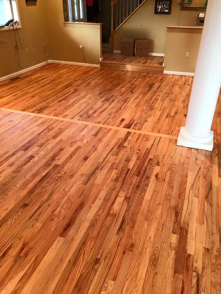 Hardwood floors sanded in Blairstown, NJ