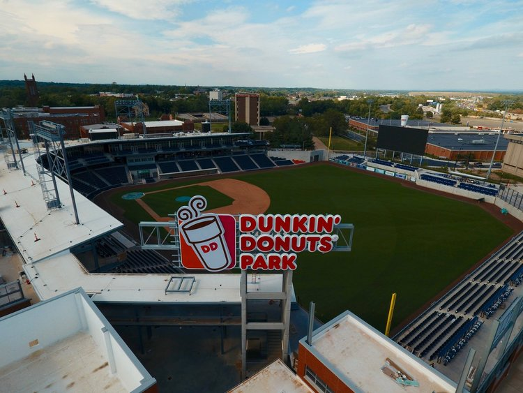 Hartford Yard Goats /Dunkin' Donuts Park - Developed and executed a successful public / community relations campaign for gaining the municipal support, building, opening, and promoting the inaugural season of Dunkin' Donuts Park. Coursey & Company continues to be the public relations agency for the Hartford Yard Goats and Dunkin' Donuts Park.