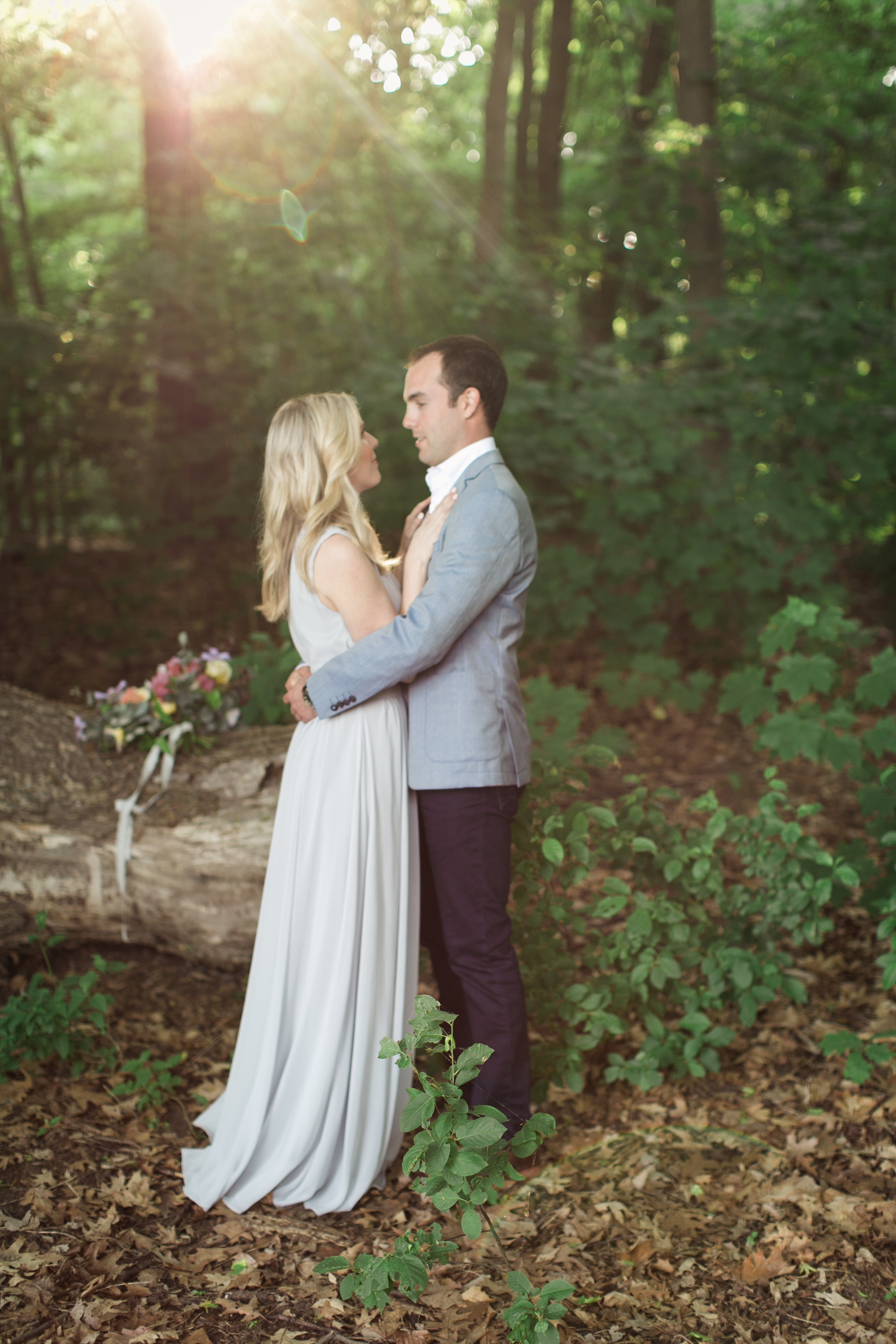 amanda cowley events niagara wedding planner beach engagement session sunset