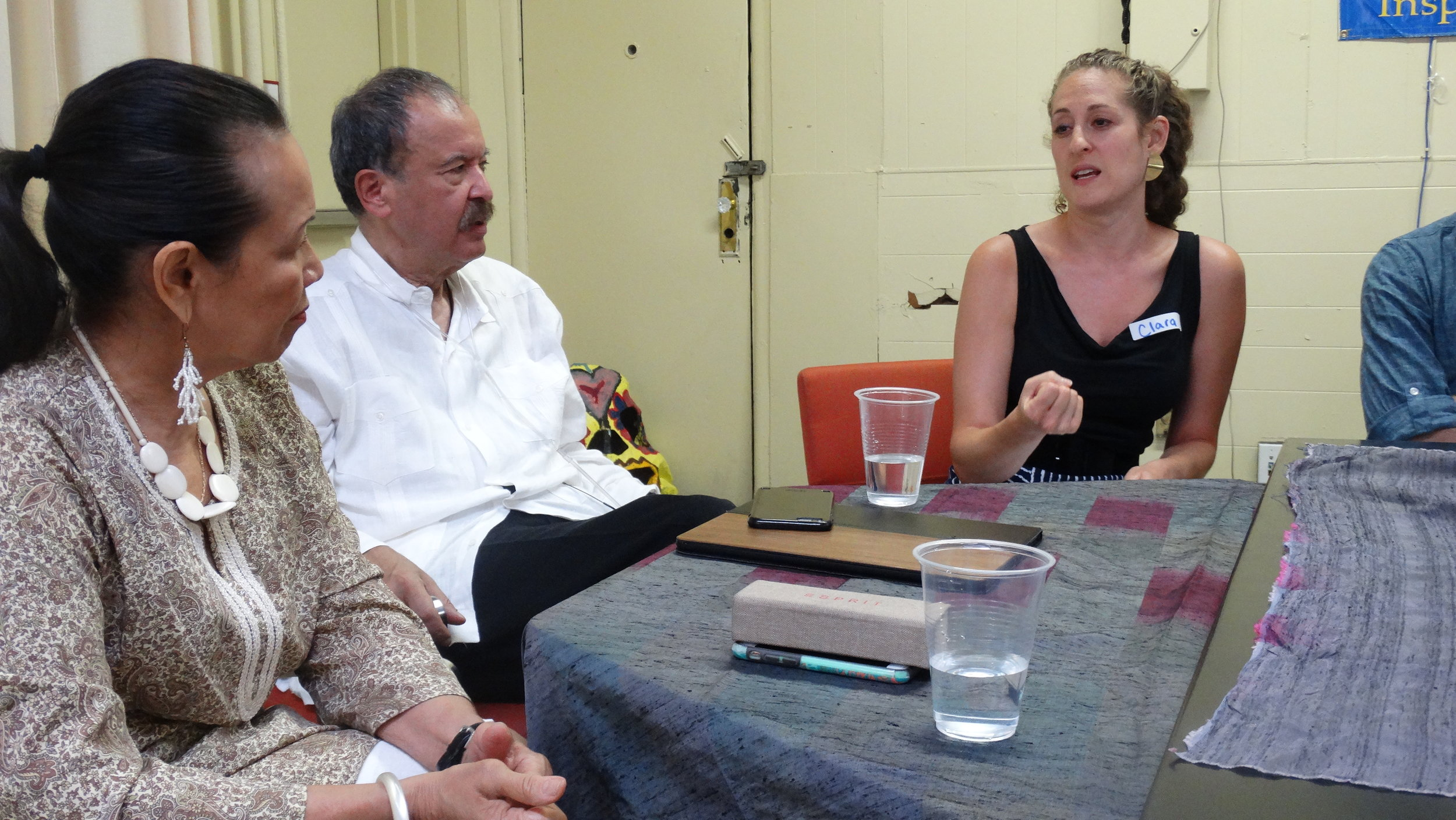 El Puente Global Justice Institute Panel Discussion with Founder and Co-Founder Luis Garden Acosta and Frances Lucerna