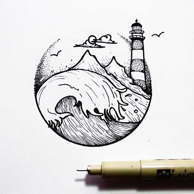 Lighthouse Wave