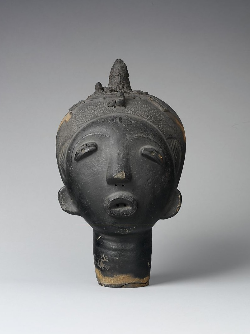 Memorial Head, Akan Peoples, c. 17th Century