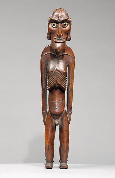 Moai Kavakava Figure, Mid - Late 19th Century (Met Museum)