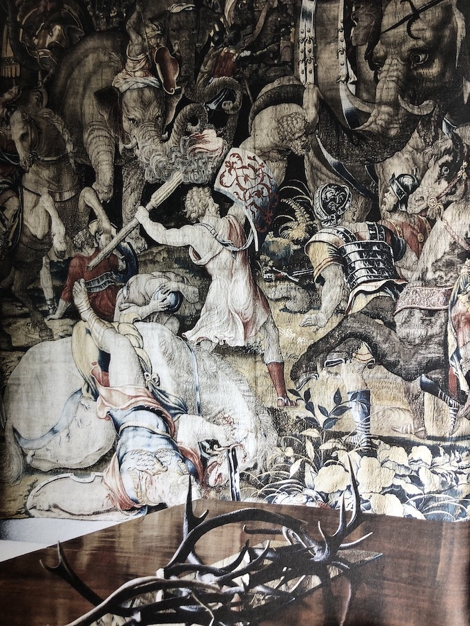 Tapestry became a means of reflecting the lives and times of their weaver, chronicling major political events and battles.