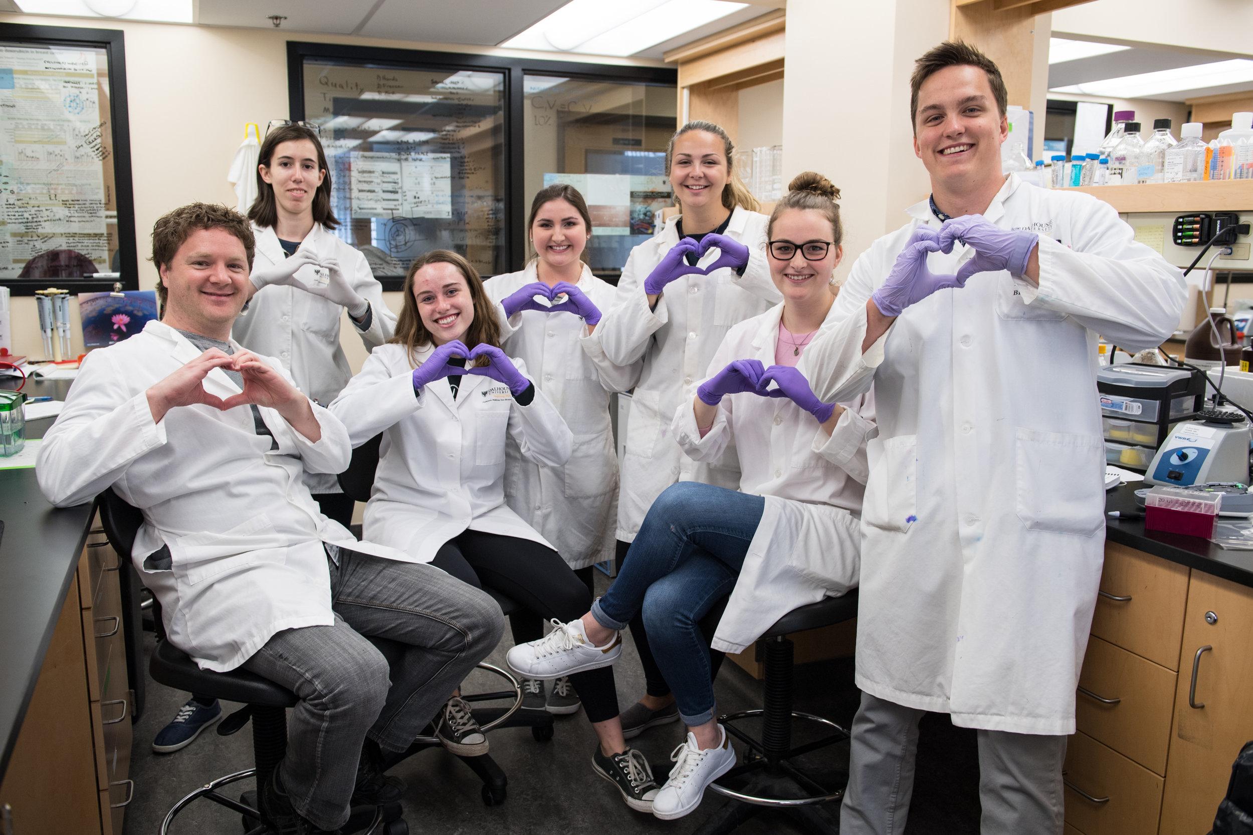 The IMPART lab team at Dalhousie Medicine New Brunswick