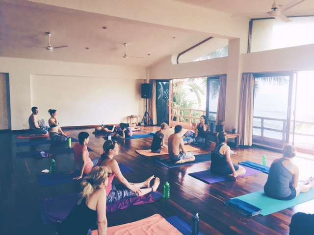 Our first class of the retreat! We had a few students join us who were new to yoga and pilates, and watching them fall in love with their brand new practice reinvigorated my own love of yoga and movement. You never get to re-take your first yoga class, but the joy of watching somebody else fall in love with theirs is  almost as satisfying.