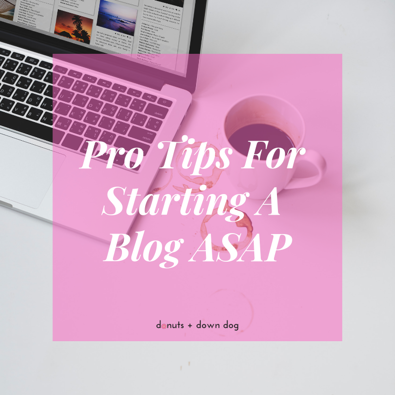 You don't need to spend a ton of money to start a blog. You can get started TODAY just by being yourself, being a badass, and using a few great resources.