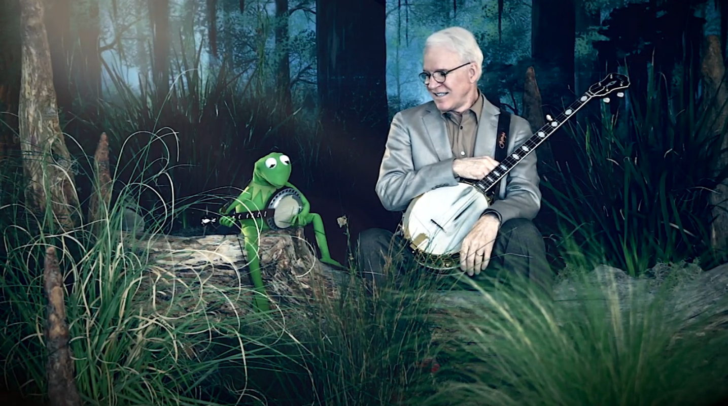 DUELING BANJOS- Steve Martin and Kermit the Frog