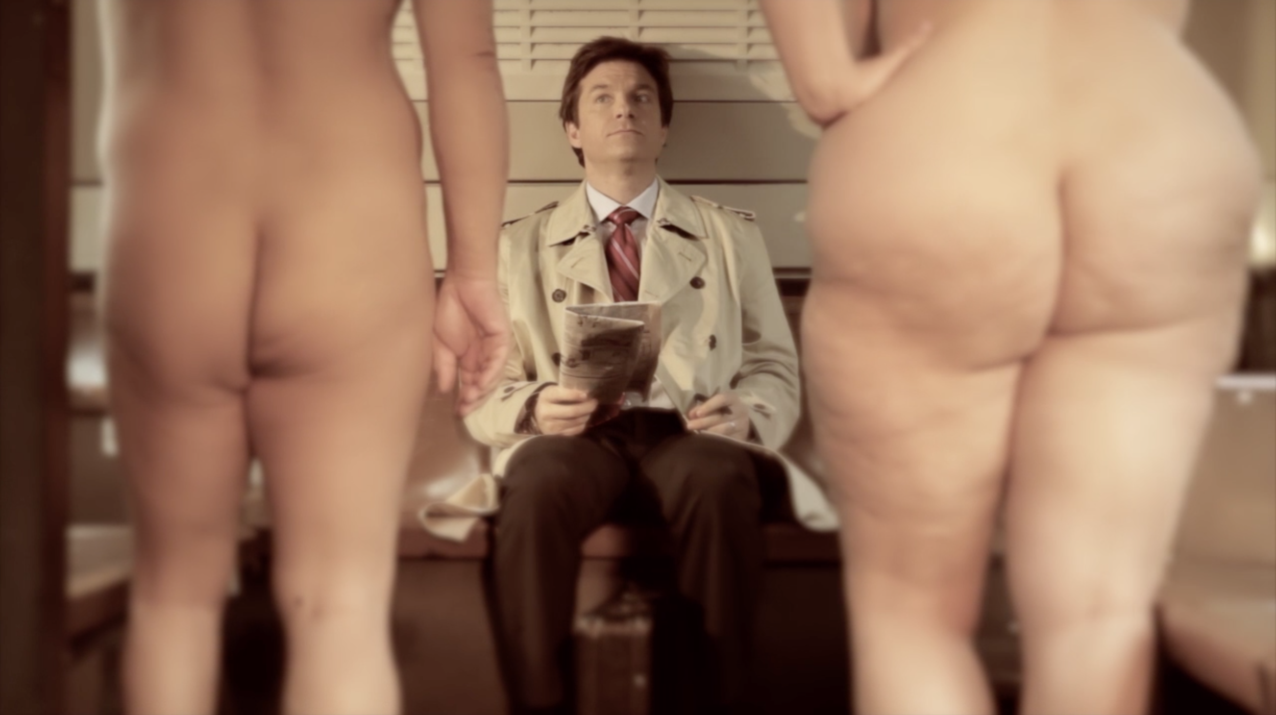 NAKED COMMUTE- Jason Bateman