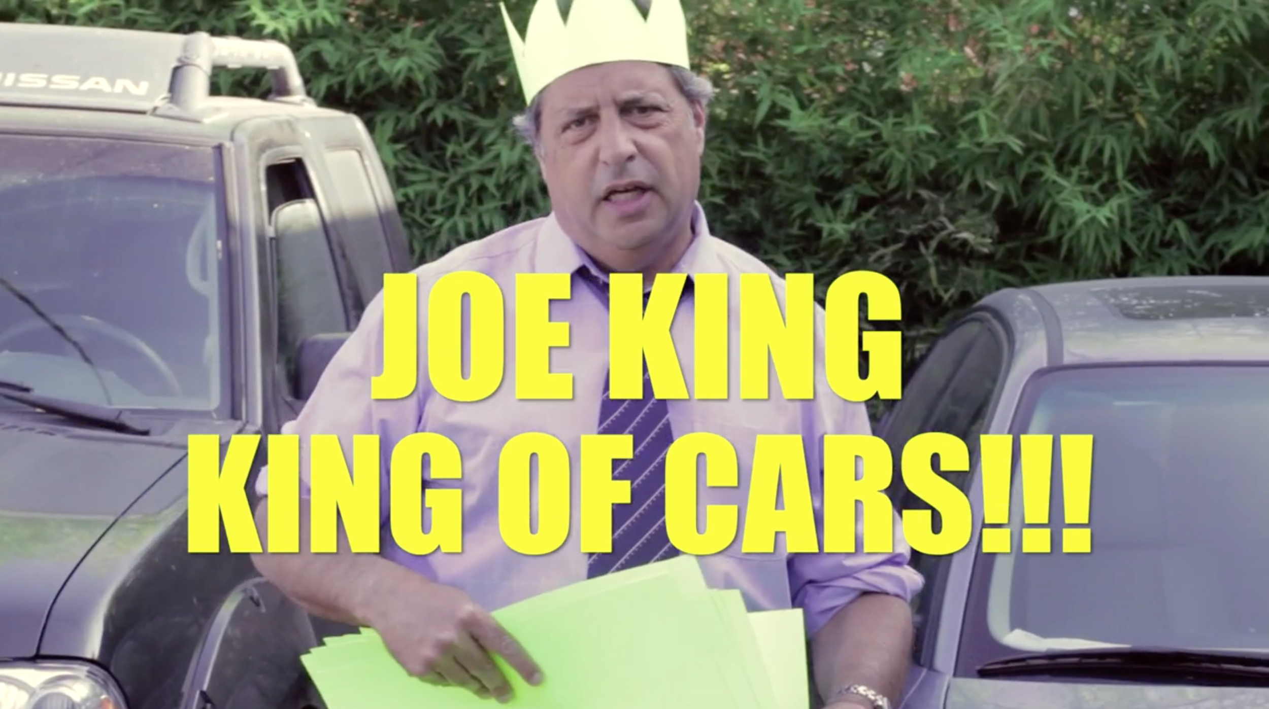 JOE KING KING OF CARS- Jon Lovitz
