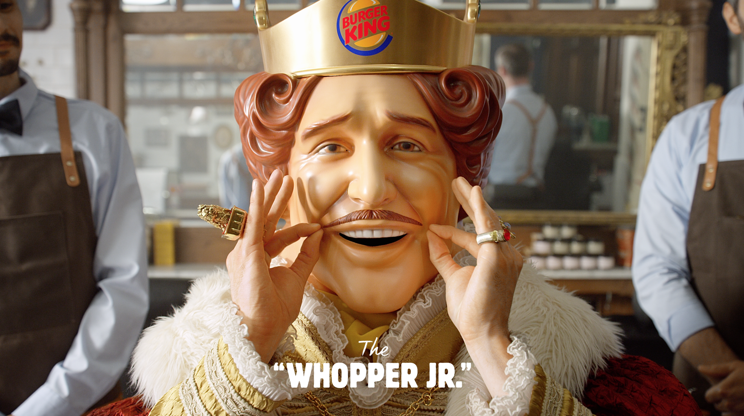 "BURGER KING ""MOVEMBER KING"" - Yacht club"