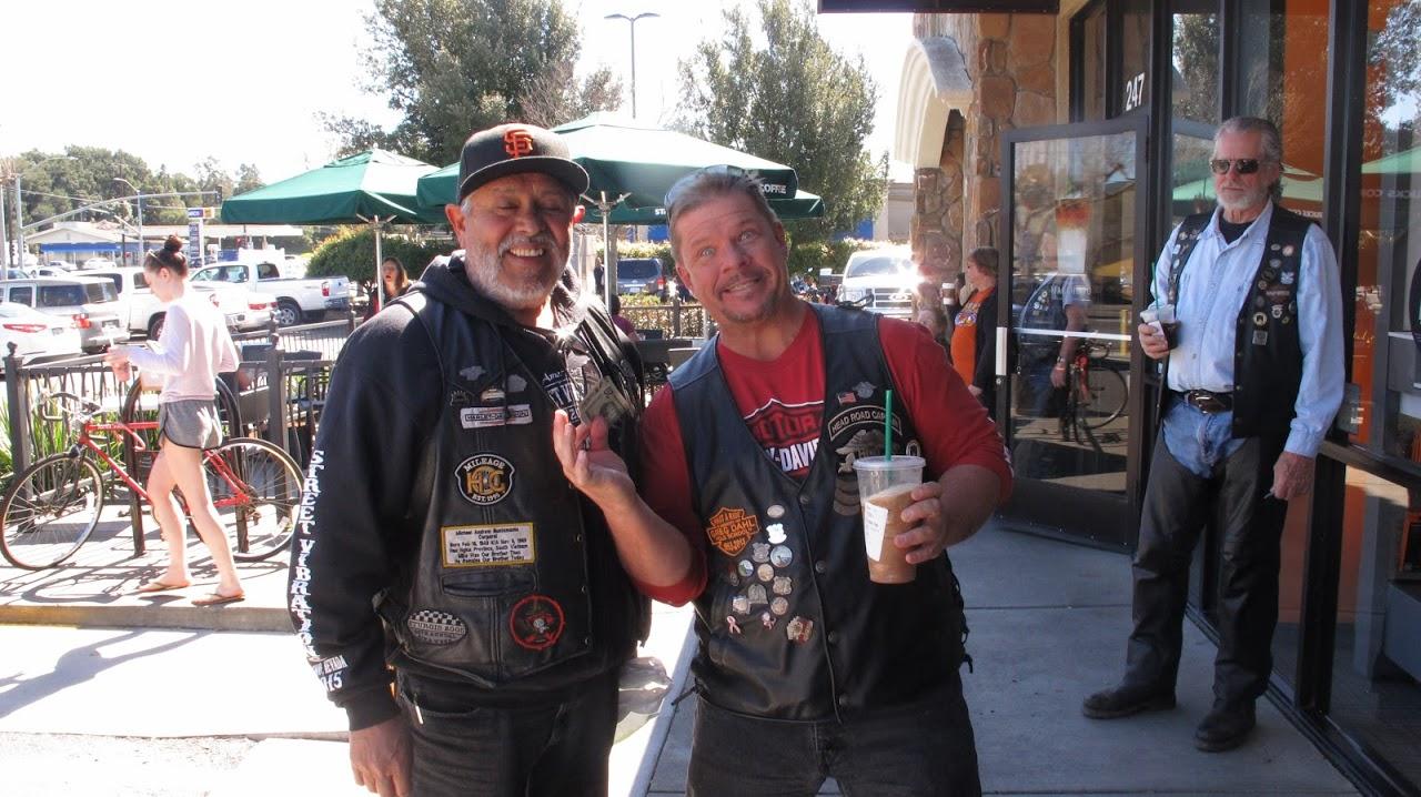 Antonio's Napa - Petaluma Ride -