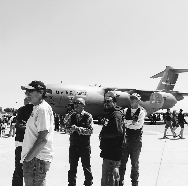 """Travis AFB Air Show Ride:""""Wings Over Solano"""""""
