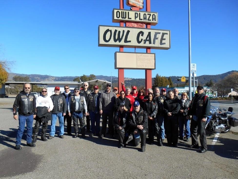 Owl Cafe Ride -