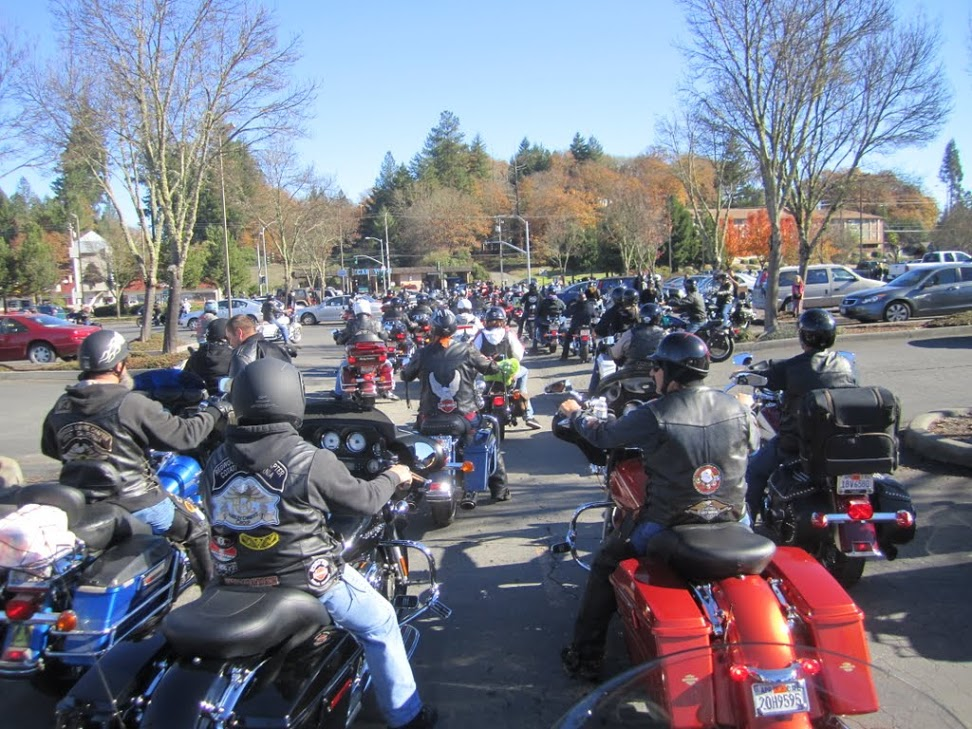 Willits Toy Run 2012 -
