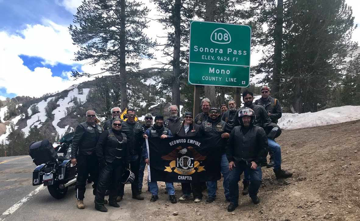 Yosemite Twin Passes Ride -