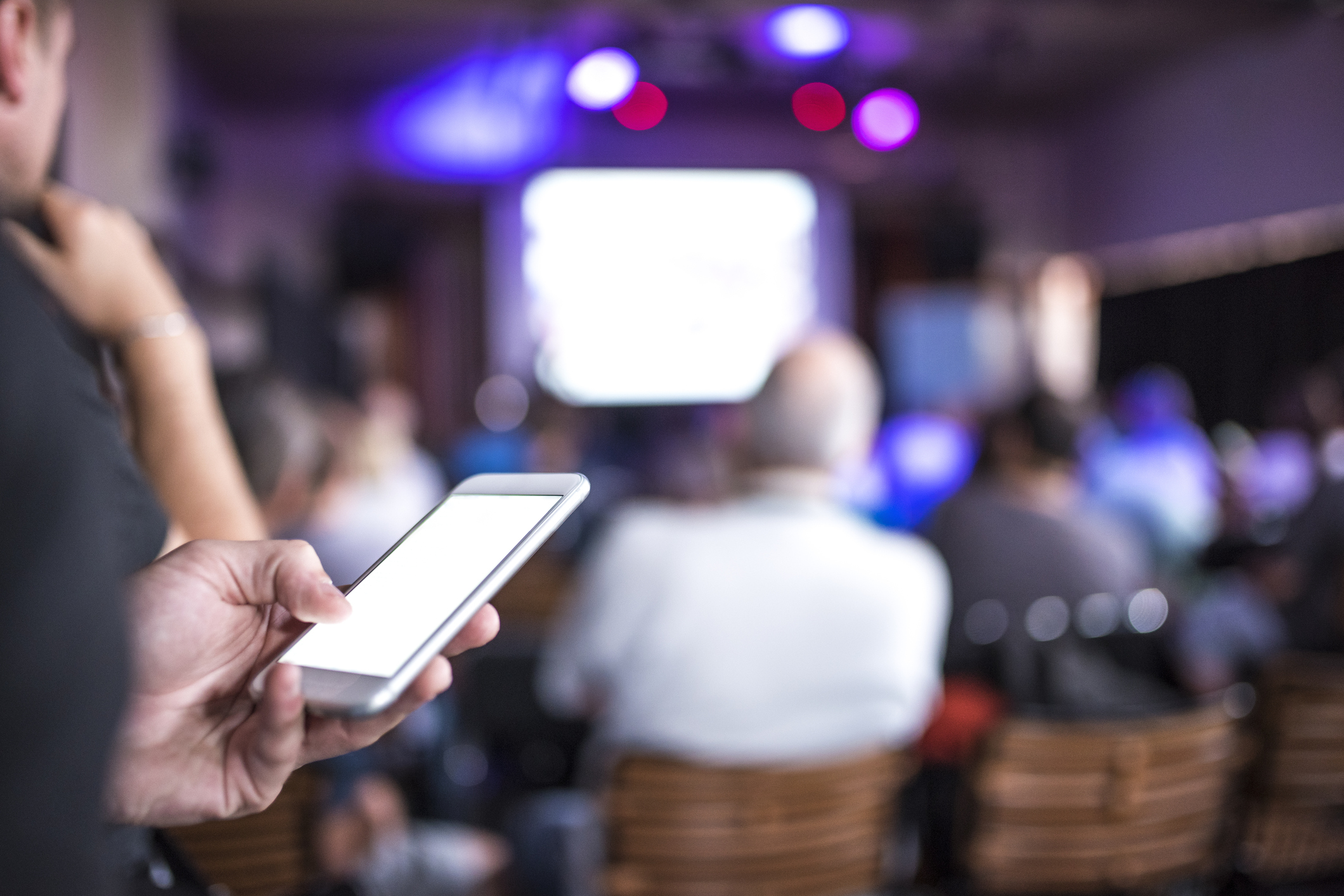 Natural Networking - Event attendees often escape to their phones, missing out on opportunities to connect to others.Our solution allows attendees to do what's natural for them while recommending conversations with other attendees without needing to open an app.