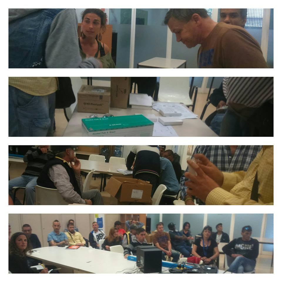 Spanish drug users hard at work as EuroNPUD supports capacity building in several Southern European countries.
