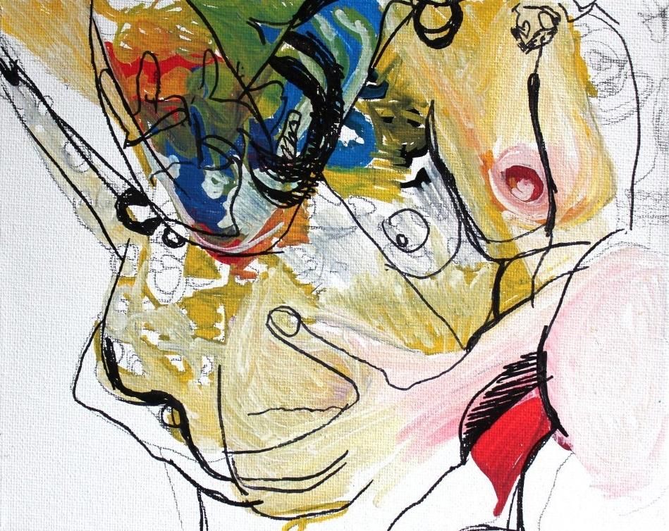 nude painting art