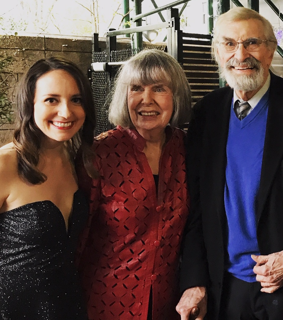 With my co-stars, Anne Marie Shea and Martin Landau