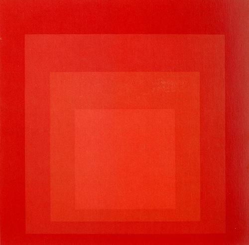 Josef Albers MBB red
