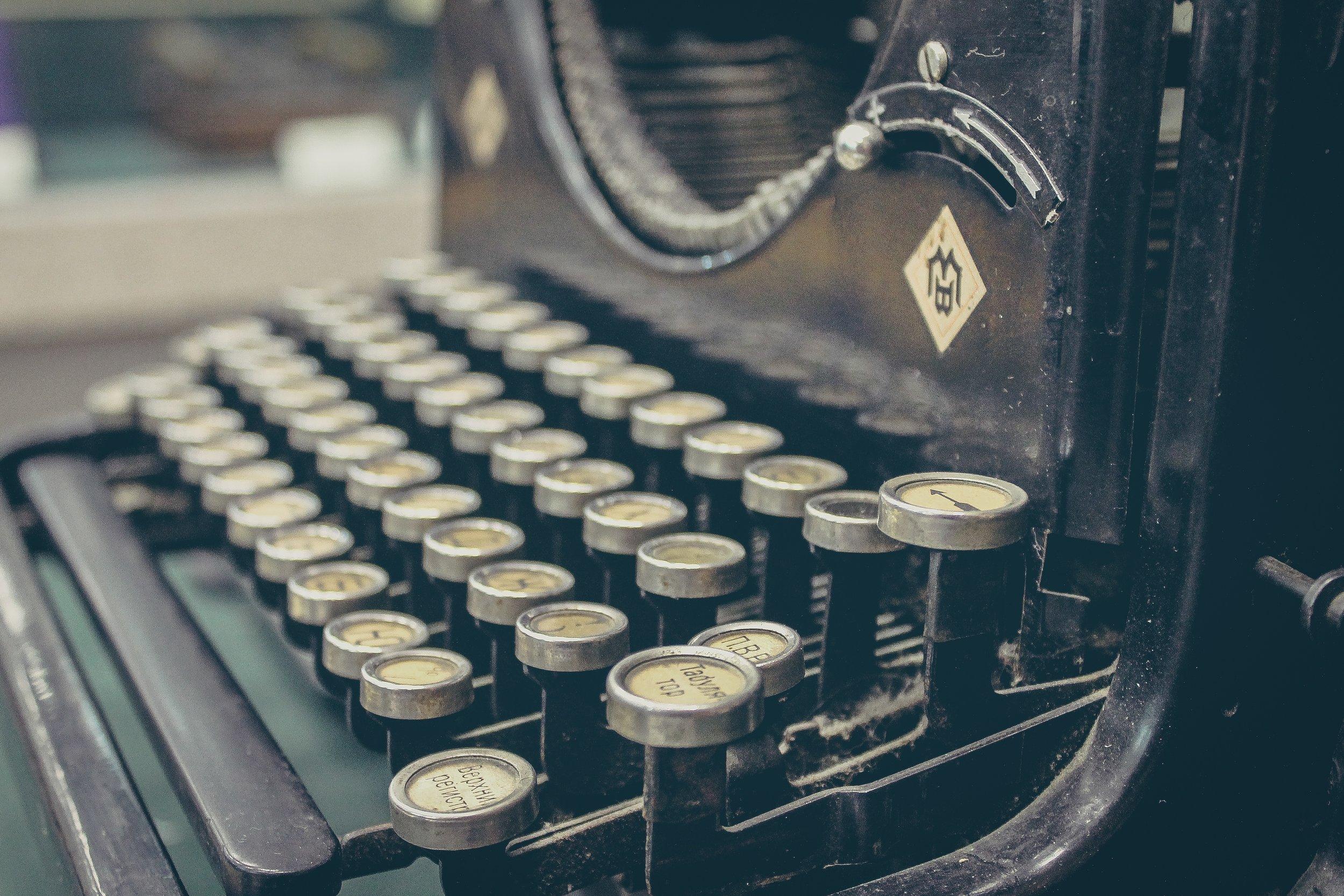 typewriter mbb