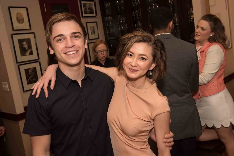Sean Grandillo & Kimiko Glenn.  Photo: Amelia Panico