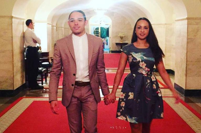 Anthony Ramos & Jasmine Cephas Jones .  Photo: Instagram (@anthony_ramos_nyc)
