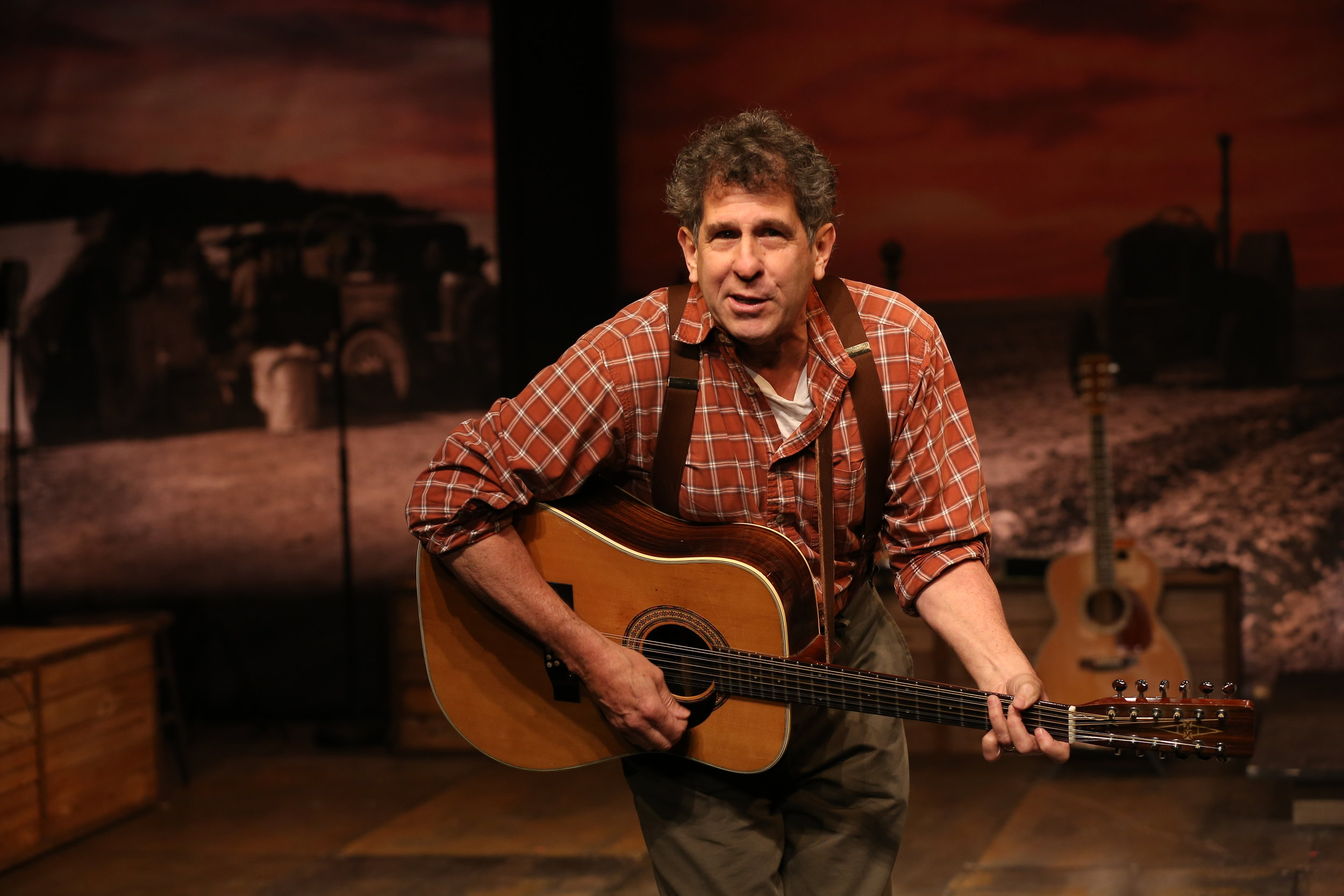 Andy Teirstein in WOODY SEZ at Irish Rep, Photo by Carol Rosegg.JPG