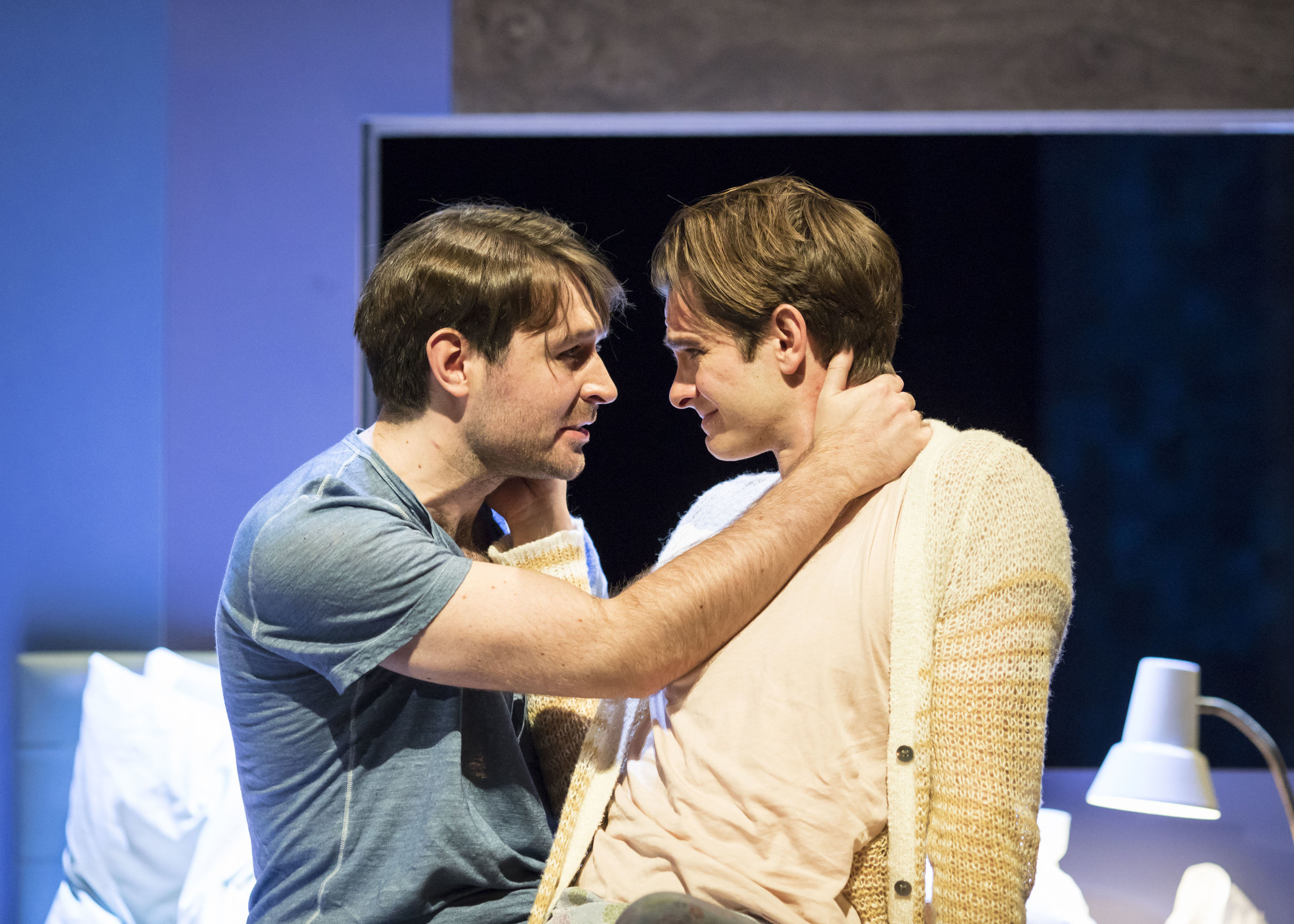 3. James McArdle (Louis) and Andrew Garfield (Prior) in Angels in America - Millennium Approches (c) Helen Maybanks.jpg