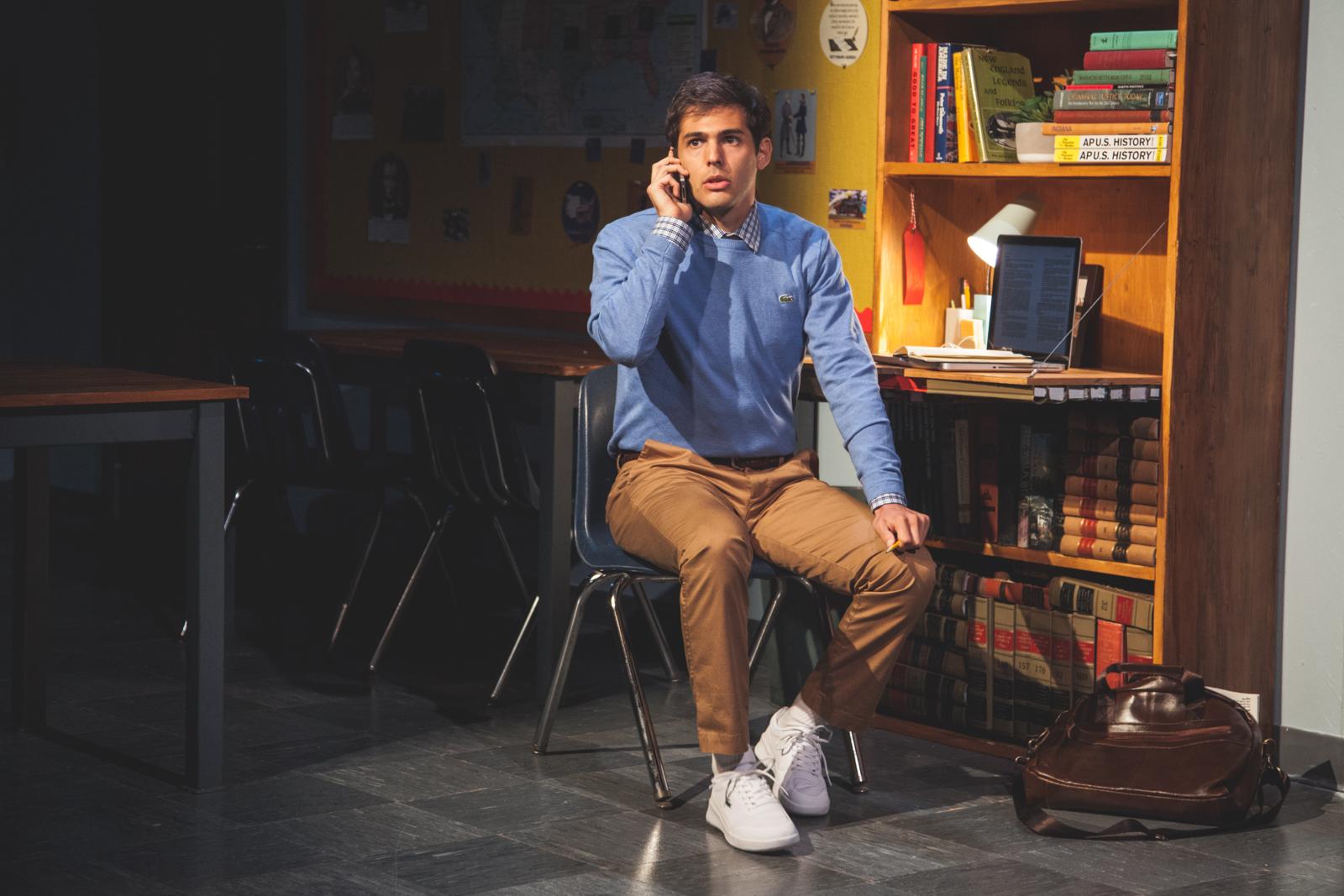 Ben Getz in SPEECH & DEBATE at BSC, Photo by Justin Allen.jpg