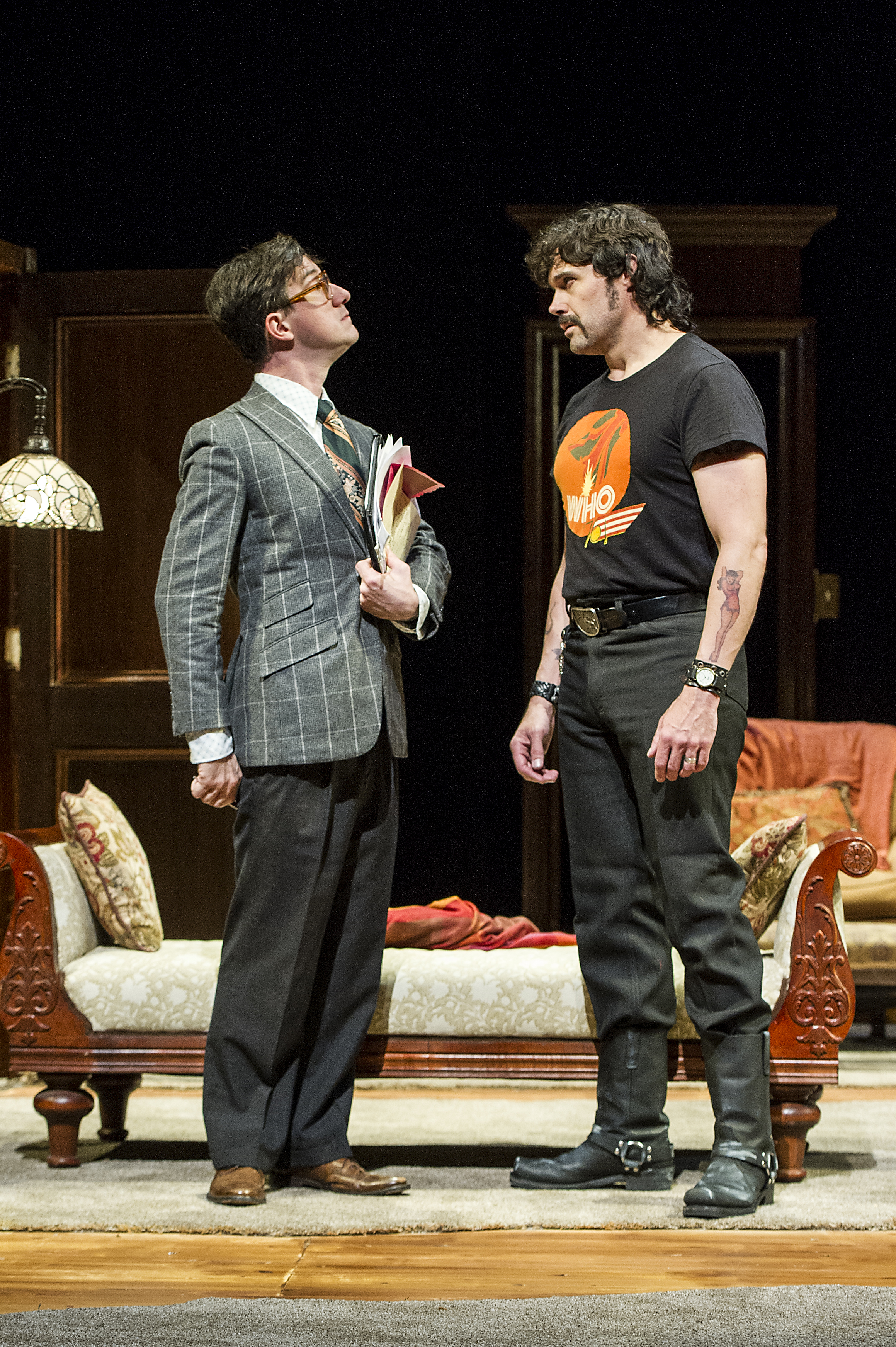 Carson Elrod and Matthew Greer in BSC's TAKING STEPS, Photo by Daniel Rader.jpg