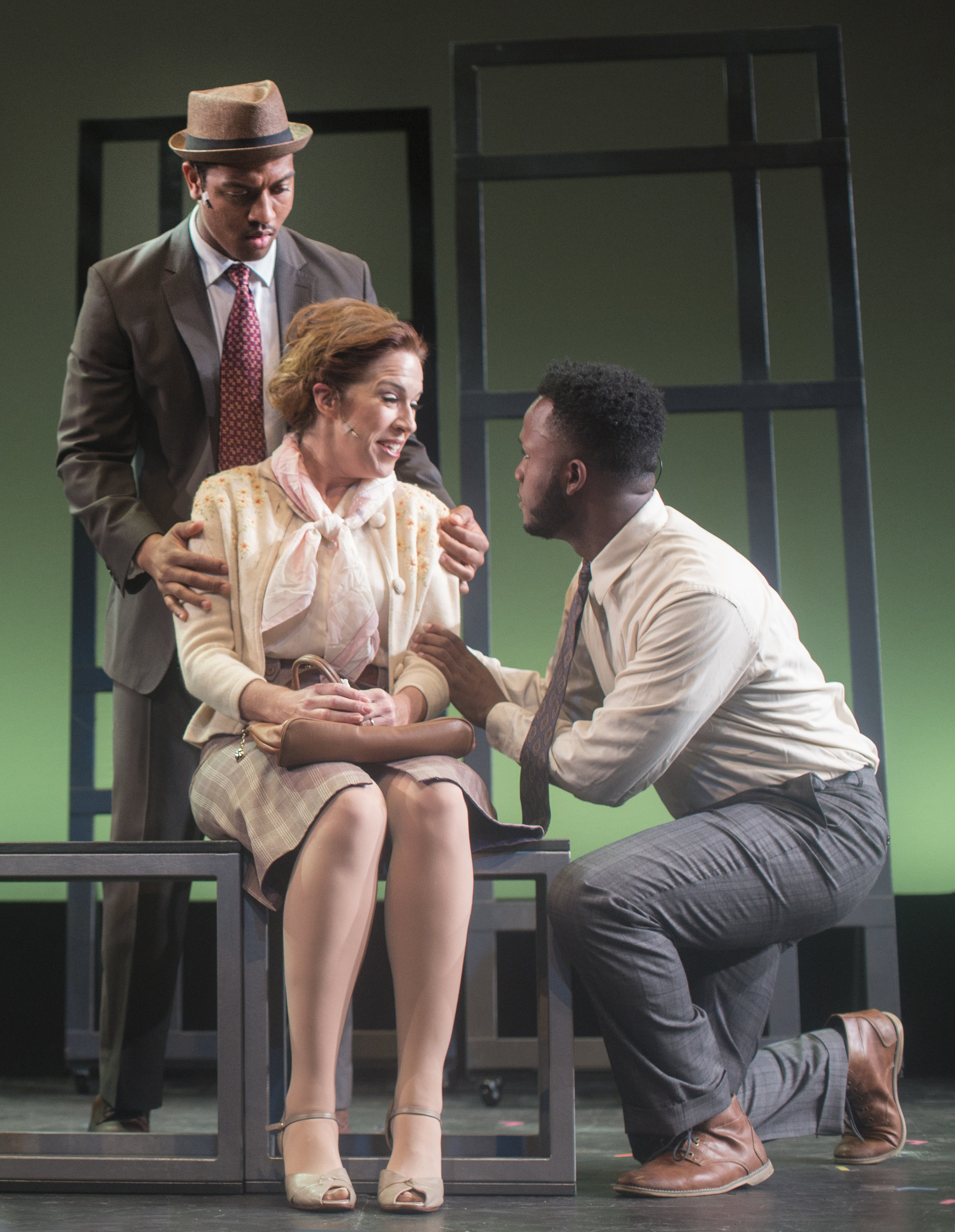Nygel Deville Robinson, Joy Yandell Hricko and Deon'te Goodman in FREEDOM RIDERS at NYMF 2017 - photo by Mia Winston.jpg